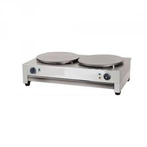 Two Plates Electric Crepe Maker for Restaurant