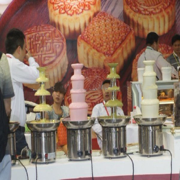 Mini Stainless Steel Electric Chocolate Fountain,Spreading Machine