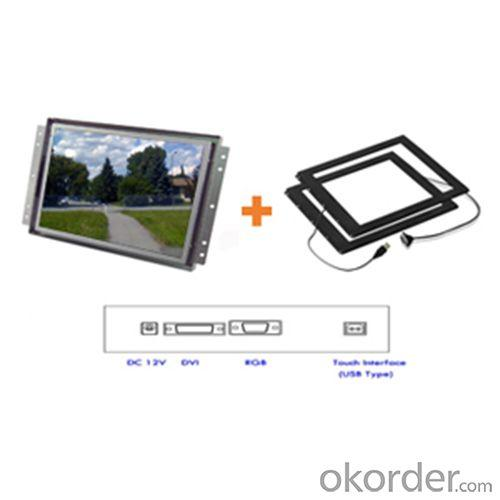 22&Quot; Wide Led Ir Touch Openframe Monitor/ Chassis(Closed) Frame/ Panel Mount/ 1680X1050/ Rgb / Dvi/ Dc12V
