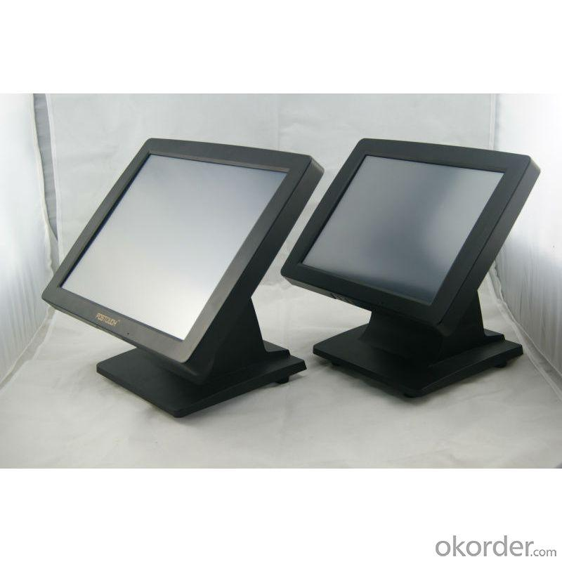 Cs-Pos15 Inch Lcd Touch Lcd Monitor With Steady Holder