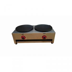 Gas Crepe Maker Double Plate Ce Approved