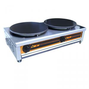 Double Table Electric Crepe Maker 86*46*24cm