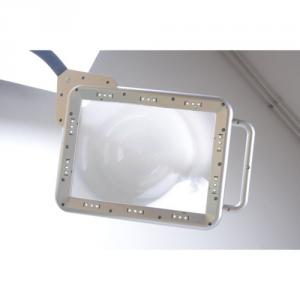 Full Page Led Floor Magnifying Lamp With Adjustable