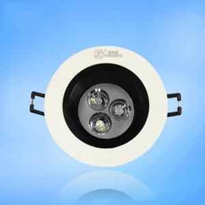 Anti-Glare Led Ceiling Spotlight 3W High Power Led 100Lm/W