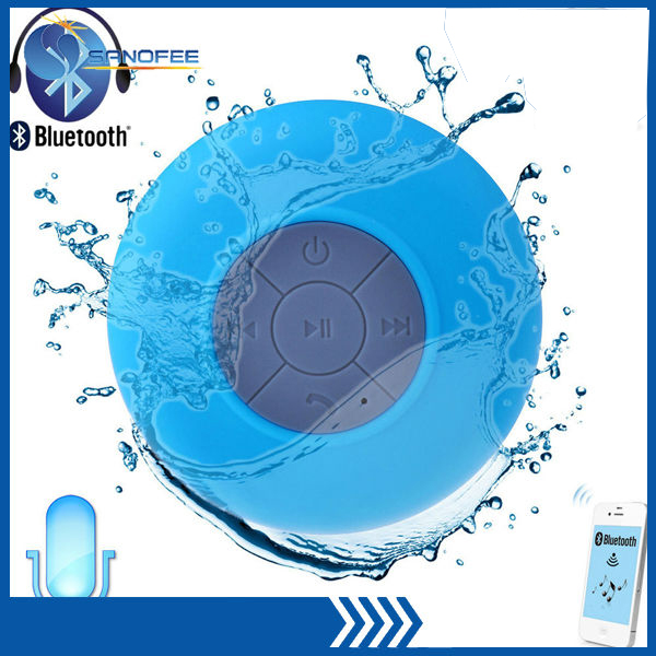 2014 Waterproof Ipx 4 Wireless Bluetooth Shower Speaker