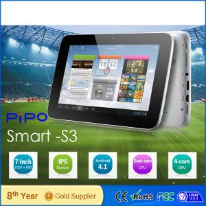 Pipo S3 Pro 7&Quot; Ips Quad Core Bulk Wholesale Android Tablets Promotional