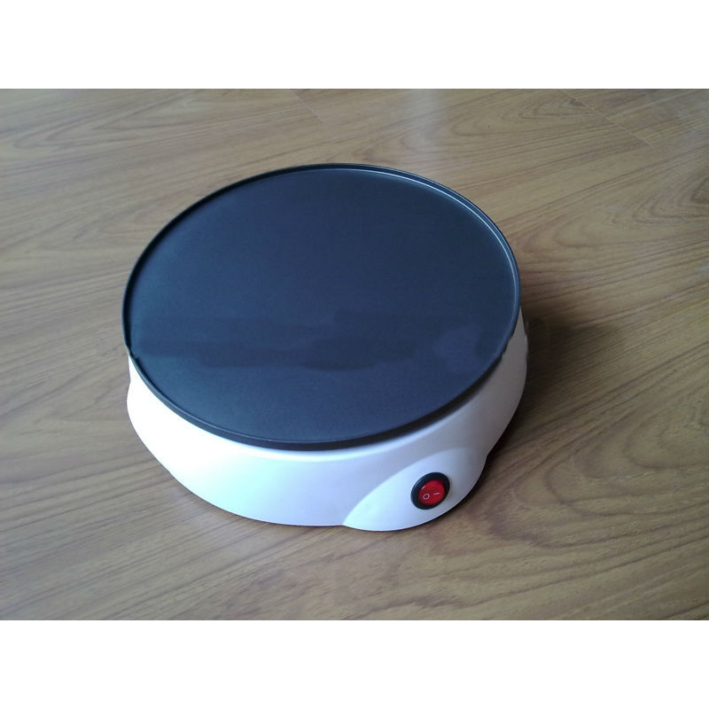 Mini Pancake Maker Home Use with Themostatically Controlled Heat Plates