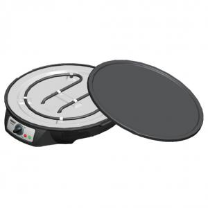 Electric Crepe Maker 12 Inch Detachable Non-Stick Plate