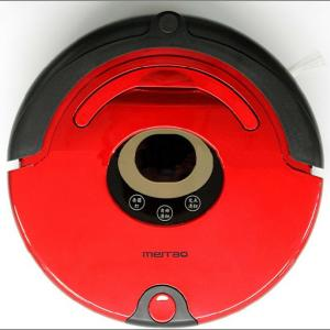 Intelligent Robot Vaccum Cleaner with Alarm Function LCD Display