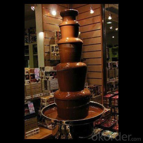 5 Tiers Stainless Steel Commercial Chocolate Fountain