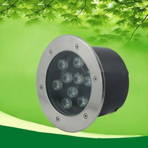 9W Waterproof In-Ground LED Landscaping Lights From China Factory