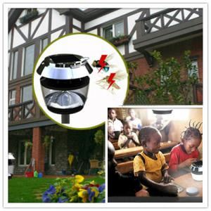 Hot Selling New Patented Mosquito Animal Repeller Solar LED Garden Light Lighting, Pass CE FCC, ROHS