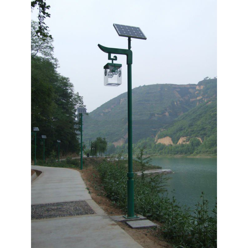Solar LED Garden Lights Solar Yard Light With Olive Archaize Design By Professional Manufacturer
