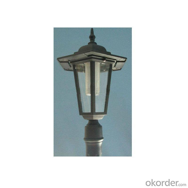 Cx-3520 Singel Head Solar LED Post Light Super Bright LED From China Factory