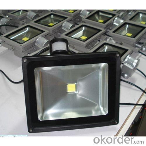 Ac85-265V Super Bright High Lumen Ce Senor 2 Years Warranty Led Pir Floodlight Withepistar Led Floodlight 10W 20W 30W 50W 100W