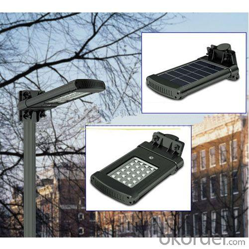 All In One Aluminum High Lumens Solar Power LED Garden Light By Professional Manufacturer