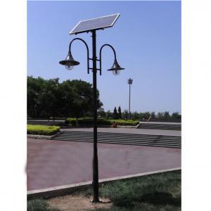 3.5M 20W LED Solar Garden Light, Solar Courtyard Light, Solar Park Light By Professional Manufacturer