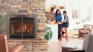 Gas Fireplace with Limited Lifetime Warranty