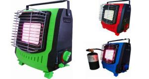 Portable Gas Heater with Safety Governor