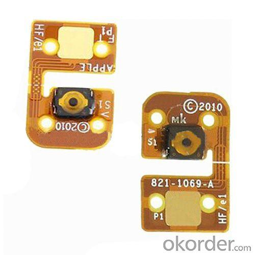Repair Part Home Button Key Flex Cable For Ipod Touch 4