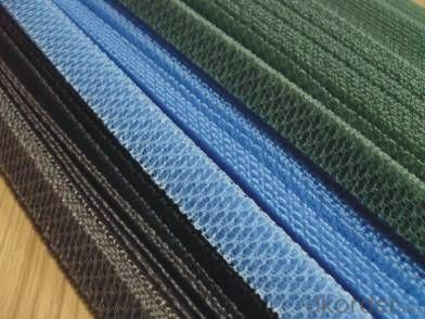 High Quality Hexagonal Polyester Pleated Mesh