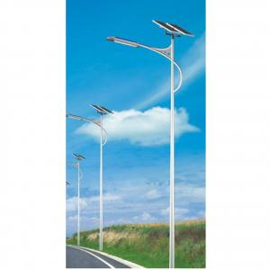 China Manufacturer 70W LED Lamp High Bright Solar Street Light 240 Solar Panel 8m Pole IP66
