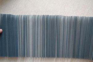Fiberglass Pleated Mesh Folded Window Mesh