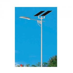 China Factory High Power Solar Street Light Aluminum Shell 60w LED Lamp 220w Solar Panel 8m Pole IP66