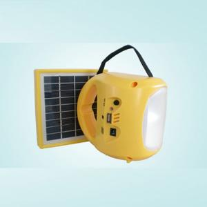 USB Mobile Charge Rechargeable Solar Lamp 1.7W 9V 3200mah 130lm 150 hours From China Factory