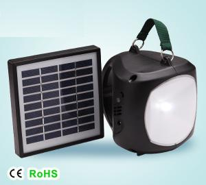 High Quality Mobile Charge LED Solar Lantern 1.7W 9V Grey From China Factory