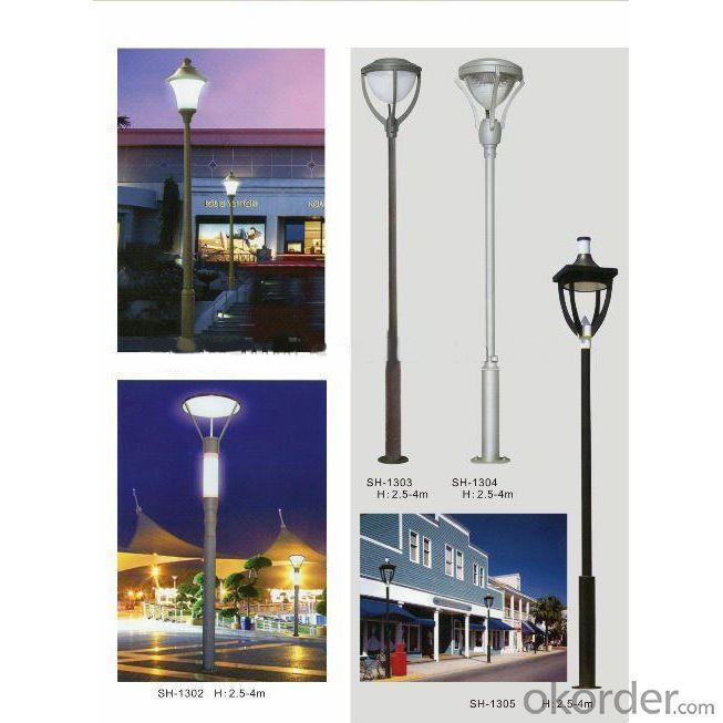 2014 New All In One Design CE FCC, 100W High Power Vertical Wind Solar Hybrid Street Lights
