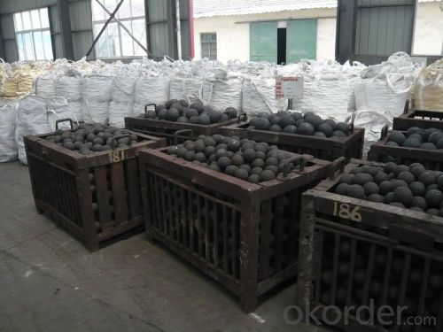 Competitive Price Forged Grinding Ball with Good Quality Made in China for Mineral Processing
