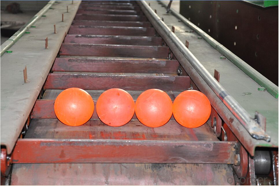 High Chrome Grinding Media Ball with High Hardness & Good Wear Resistance & High Toughness & No mal-roundness