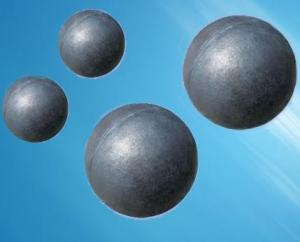 Grinding Media Steel Ball with Non-deformation Made in China for Mineral Processing and Cement Plant