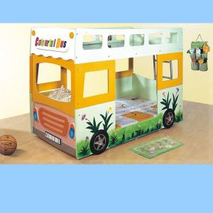 Yellow Bus Bed For Kids Bedroom Furniture