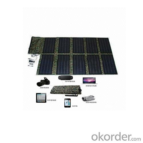 100w foldable solar charger