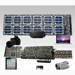 2014 New Portable Solar Charger Bag For Smartphone Tablet PC Car Battery Solar Power Supply Pack 36W 5V 18V 1.5-2.1A