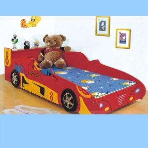 Funny Car Bed For Kids Bedroom Furniture
