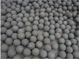 Forged Steel Grinding Ball with High Hardness & Good Wear Resistance & No Breakage(ISO9001:2008)