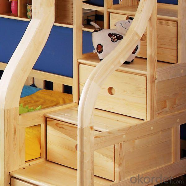 Comfortable Kids Bunk Bed With Drawer Steps Children Furniture Sets