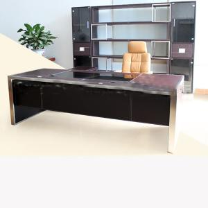 Bonded Leather Computer Desk Dz13