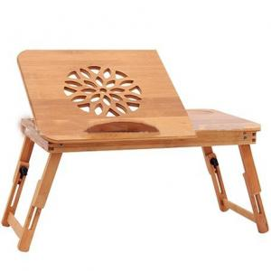Folding Bamboo Notebook Laptop Table