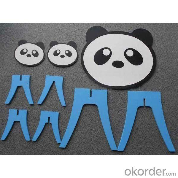 Panda Animal Shape Kids Study Furniture Set