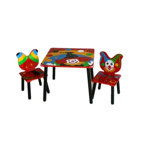 Wooden Fairy Kids Table And Chair Sets For Children Study