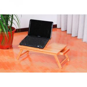 Bamboo Natural Laptop Computer Desk