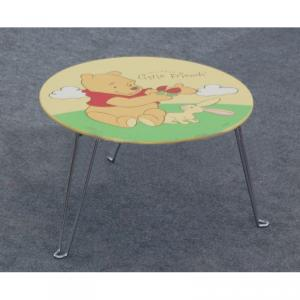China Manufacturer Foldable Cartoon Children Table, Popular Carton Style Children Folding Wood Desk And Chair Set