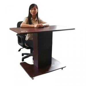 Adjustable Height Wooden Laptop Tables Stand