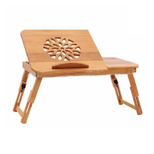Folding Natural Bamboo Laptop Desk
