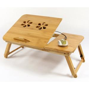 14 Inch Expandable Bamboo Laptop Desk