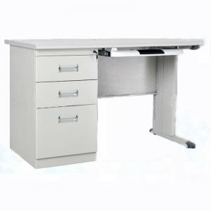 Durable Metal Pc Computer Table Desktop Computer Table Knock Down